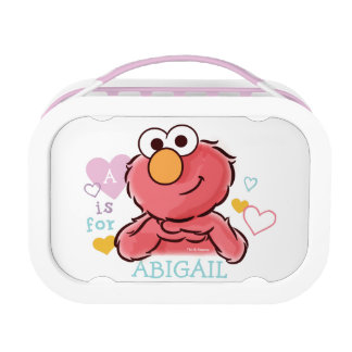 Adorable Elmo | Add Your Own Name Lunchbox