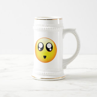 Adorable Emoticons Beer Steins