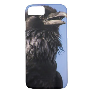 Adorable Expressive Raven iPhone 7 plus case