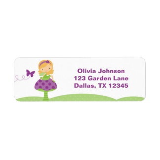 Adorable Fairy Labels