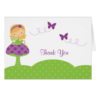 Adorable Fairy Note Card
