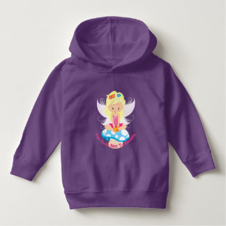 Adorable Fairy on Toadstool Too Cute Not To Cuddle Hoodie