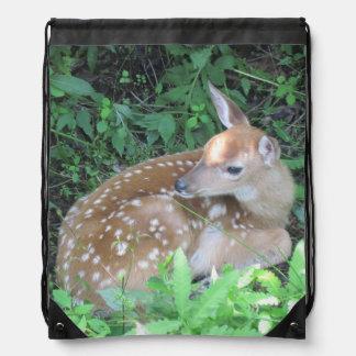Adorable Fawn Drawstring Bag