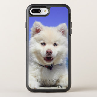 Adorable Finnish Lapphund at the beach OtterBox Symmetry iPhone 8 Plus/7 Plus Case