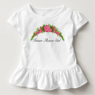 Adorable Future Flower Girl Shirt