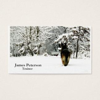Adorable German Shepherd Business Cards