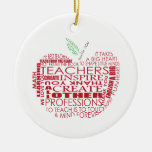 Adorable Gift for Teachers Ornaments