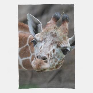Adorable Giraffe Kitchen Towel