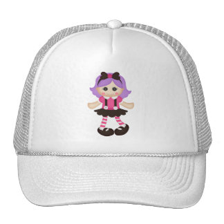 Adorable Girly Doll Mesh Hats