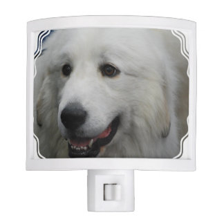Adorable Great Pyrenees Dog Night Lites