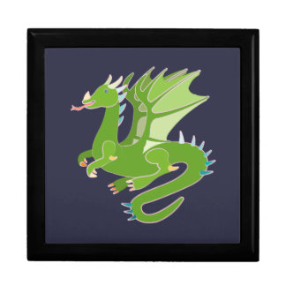 Adorable Green Dragon Gift Box