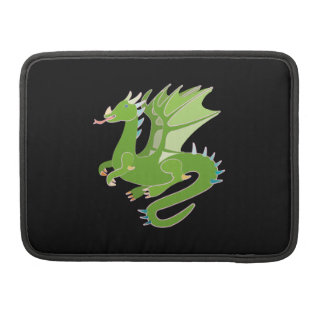 Adorable Green Dragon Sleeve For MacBook Pro