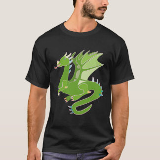 Adorable Green Dragon T-Shirt