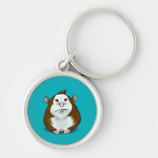 Adorable Guinea Pig Keychain