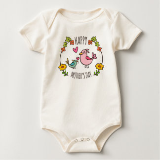 Adorable Happy Mother's Day | Bodysuit