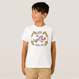 Adorable Happy Mother's Day Tagless Shirt