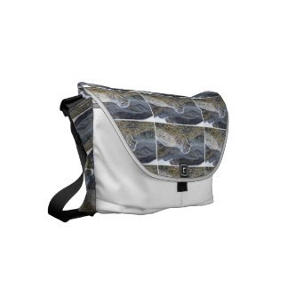Adorable Harbor Seal Courier Bag