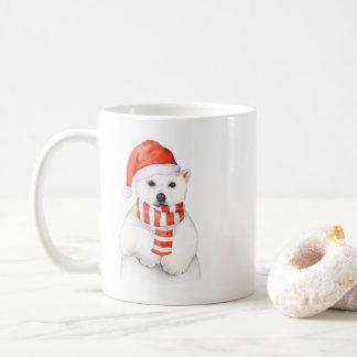Adorable Holiday Polar Bear Mug