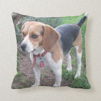 Adorable Houndie Beagle Pillow