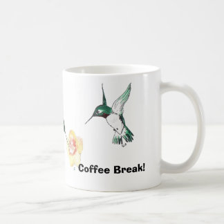 Adorable Hummers Coffee Break Coffee Mug