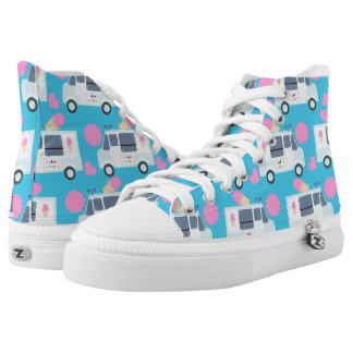 Adorable Ice Cream Truck High Tops