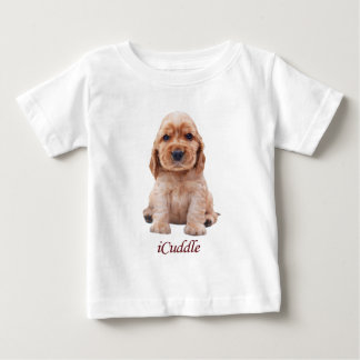 Adorable iCuddle Cocker Spaniel Baby T-Shirt