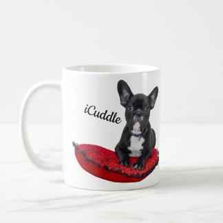 Adorable iCuddle French Bulldog Coffee Mug