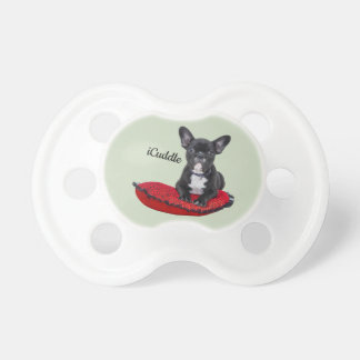 Adorable iCuddle French Bulldog Pacifier