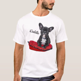 Adorable iCuddle French Bulldog T-Shirt