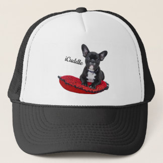 Adorable iCuddle French Bulldog Trucker Hat