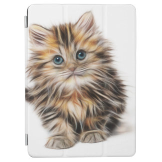 Adorable Kitten Painting iPad Air Cover