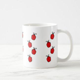 Adorable Ladybugs Design Coffee Mug