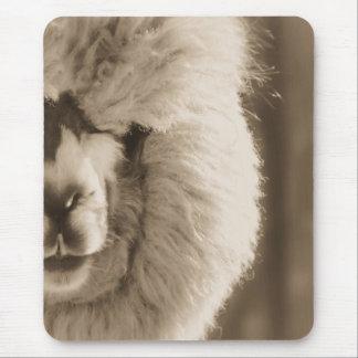 Adorable Llama/Alpaca Mouse Pad