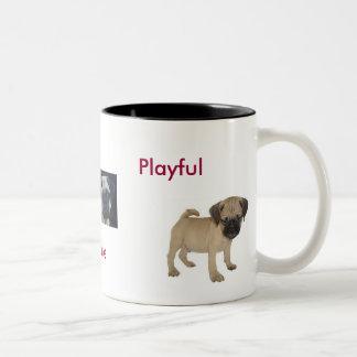 Adorable, Lovable, Playful Puggle Mug