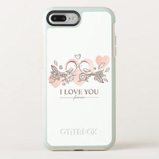 Adorable Lovebirds In Love Valentine   Phone Case