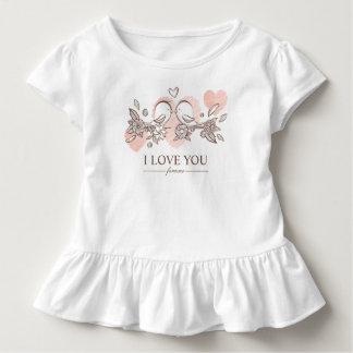 Adorable Lovebirds In Love Valentine | Ruffle Tee
