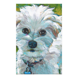 Adorable MALTIPOO Stationery