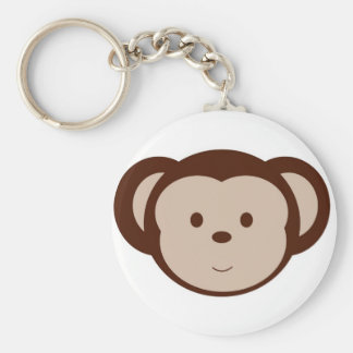 Adorable Monkey Keychain