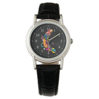 Adorable Multicolor Parrot Watch