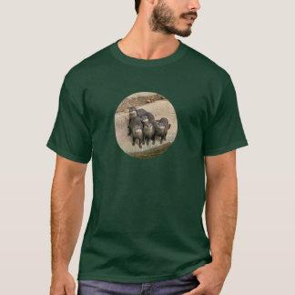 Adorable Otter Family T-Shirt