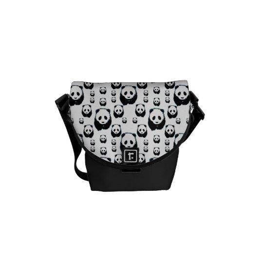 Adorable Panda Pattern Messenger Bags