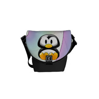 Adorable Penguin Messenger Bag