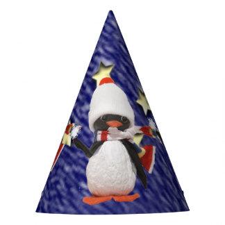 Adorable Penguin Ornament Christmas Paradise Party Hat