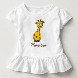 Adorable Personalized Baby Giraffe Shirts