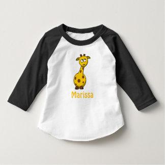 Adorable Personalized Baby Giraffe Tshirts