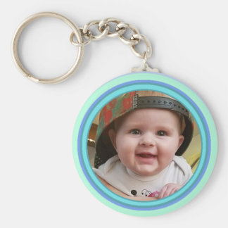 Adorable Personalized Baby Photo Key Chain