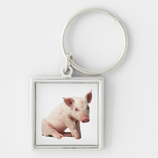 Adorable Piglet Keychain