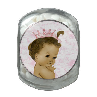Adorable Pink Toile Princess Baby Shower Candy