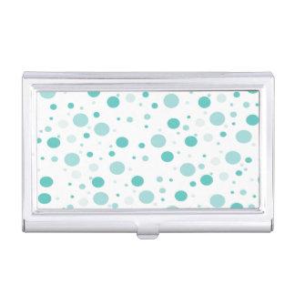 Adorable Polka Dots Pattern Business Card Holder