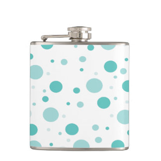 Adorable Polka Dots Pattern Hip Flask